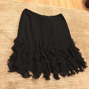 Dana Buchanan Silk Skirt Size 8